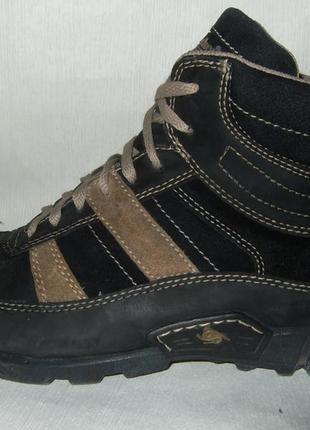Кожаные ботинки от немецкой компании dockers  оригинал