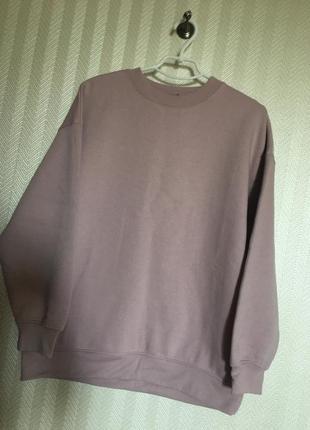 💜батник свитер свитшот худи толстовка оверсайз oversize женский zara s