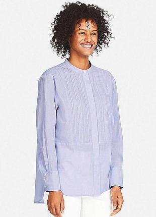 Блуза- рубашка uniqlo размер хс и с