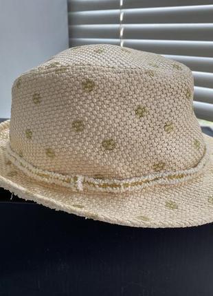 Соломенная шляпа панама mark spenser
