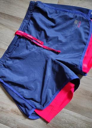Спортивные шорты 2 в 1 с лосинами.