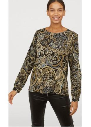 Оригинальная блузка блуза ✨h&m✨