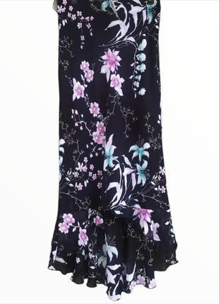 Шифоновая красивая юбка макси new look