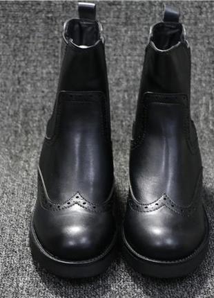Актуальные брендовые сапоги ботинки челси primadonna, италия
