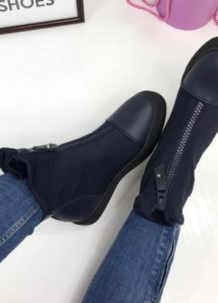 Класнючие демисезонные молодежные ботинки