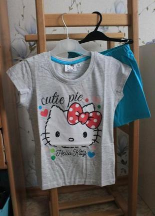 Костюм летний футболка шорты 5- 6 лет (110-116 см)