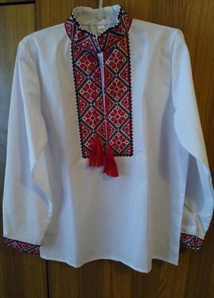 Рубашка вышиванка на мальчика
