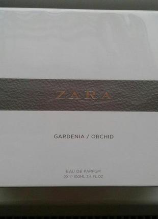 Made in spain! zara orchid 100 ml + zara gardenia 100 ml