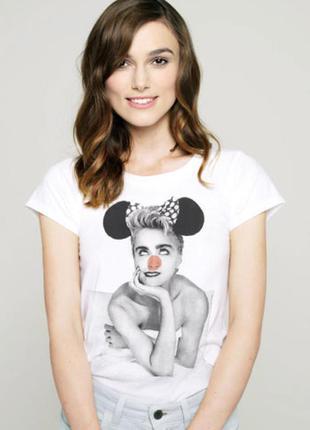 Белая футболка с принтом stella mccartney comic relief