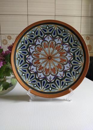 Декоративна тарілка ручної роботи