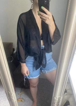 Пляжное кимоно / туника пляжная