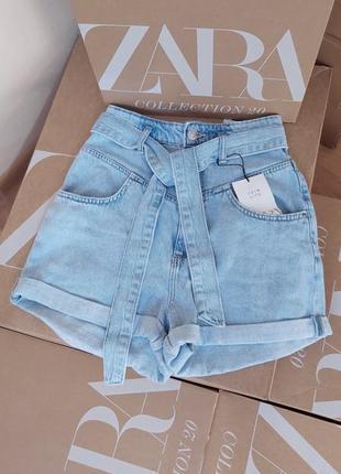Шорты бермуды джинсовые