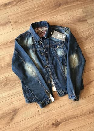 Котонова джинсовка