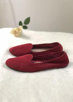 Балетки туфли на низком тапки летние топочки на літо весну 40