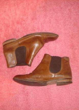 Кожаные ботинки бренд vero cuoio