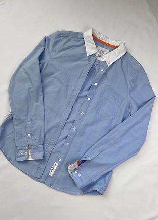 Женская хлопковая рубашка h&m
