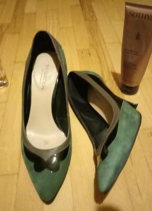 Элегантные туфельки ручной работы
