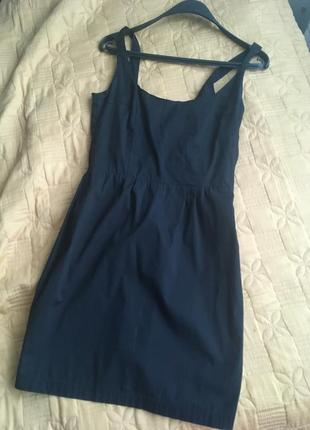 Платье xs натуральная ткань