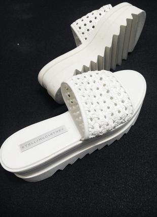 Туфли белые stella mccartney