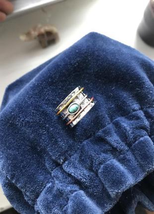 Шикарное стильное кольцо в стиле бохо