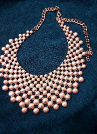 Колье ожерелье цепочка