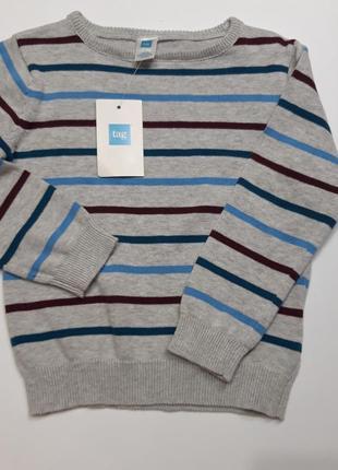 Новый тонкий свитерок на мальчика 3 года свитшот кофта