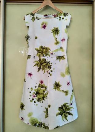 Красивейшее коттоновое платье skunkfunk (хлопок, эластан) испания