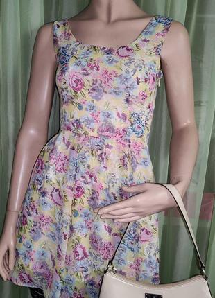 Платье лёгкое летнее , цветное 👗