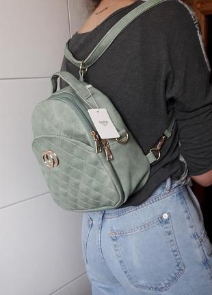 Рюкзак трансформер женский новый сумка sara bag