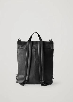 Cos мужской рюкзак из натуральной кожи
