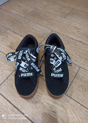 Замшевые кеды, кроссовки, стелька 26,5 см