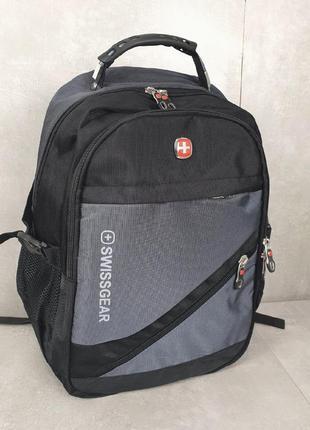 Крутой рюкзак 46х36х17 см наличие usb-порта и выход для наушников, отсек для ноутбука