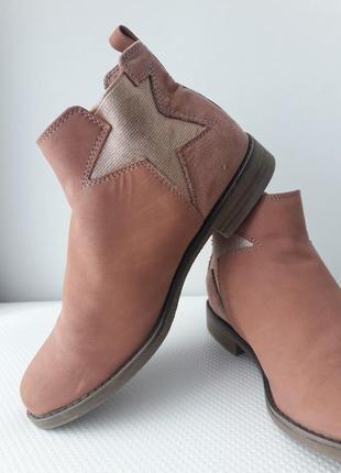 Детские ботинки демисезонные marks and spencer оригинальные m&s дитячі черевики демісезонні marks and spencer оригінальні