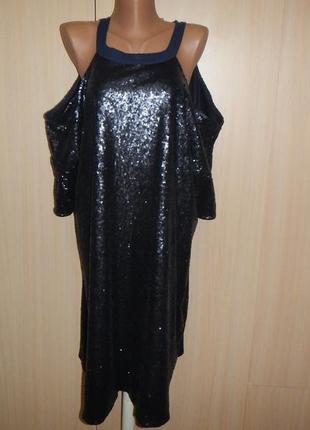 Нарядное вечернее платье asos p.56(20)