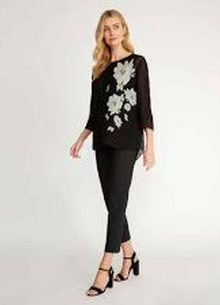 Блуза лаура эшли laura ashley wisley с пионами размер m4 фото