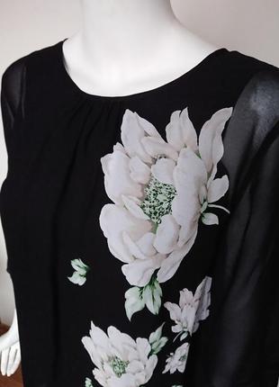 Блуза лаура эшли laura ashley wisley с пионами размер m3 фото