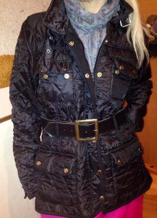 Куртка стёганная на флисовой подкладке.