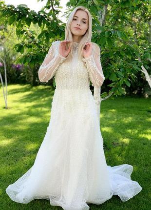 Весільна сукня millanova2 фото