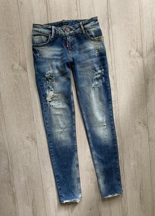 Оригинальные джинсы скини dsquared 2