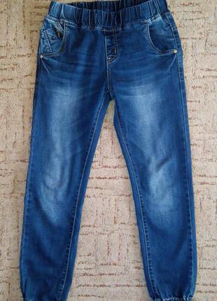 Новые крутые джинсы под резинку!
