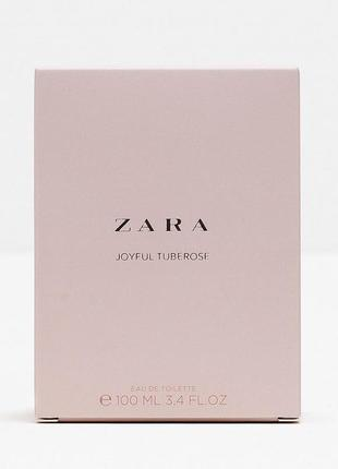 Zara joyful tuberose 100 ml оригінал!