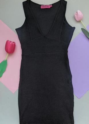 Черное платье вoohoo