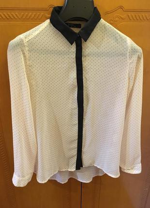 Блузка рубашка bershka