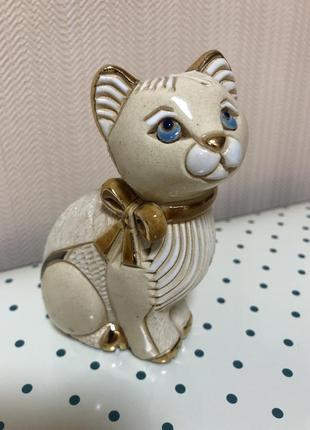 Статуэтка de rosa rinconada, кошка голубоглазая.