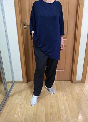Классный стильный комплект, штаны и реглан с блеском. размер 24-28