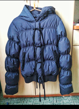 Куртка с бархатными вставками