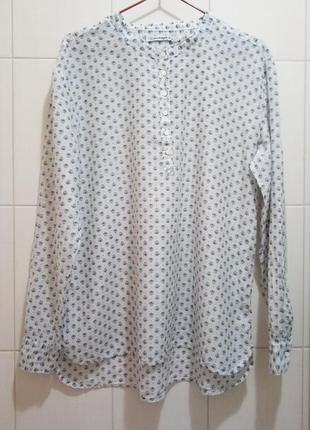 Copenhagen luxe: блуза из шелка и хлопка, батист