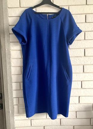 Платье синие house