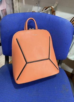 Рюкзак david jones 6261-2t коралловый