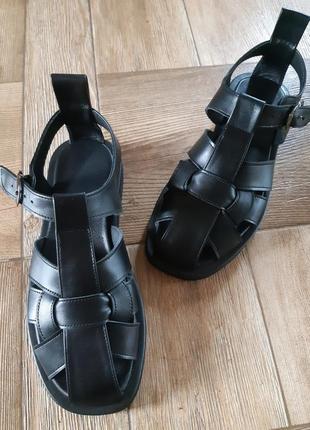 Мега модные сандалии сезона, натуральная  мягкая кожа с 36-41р3 фото